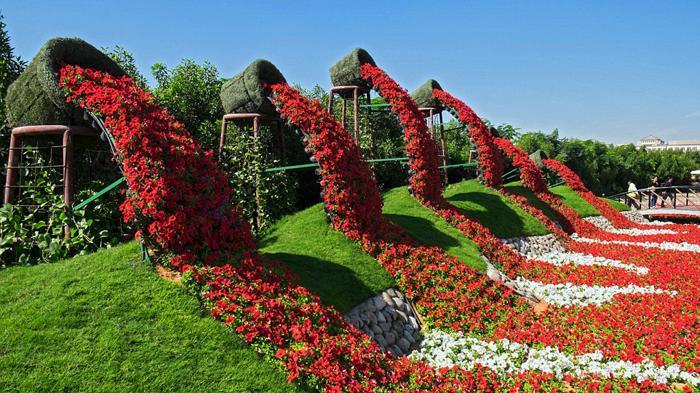 Sungguh Menakjubkan Taman Bunga Terbesar Dunia Membentuk Kebun Kota Medan