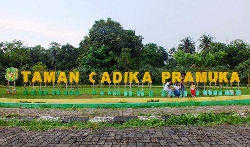 Taman Cadika Pramuka Medan Semedan Kebun Bunga Kota