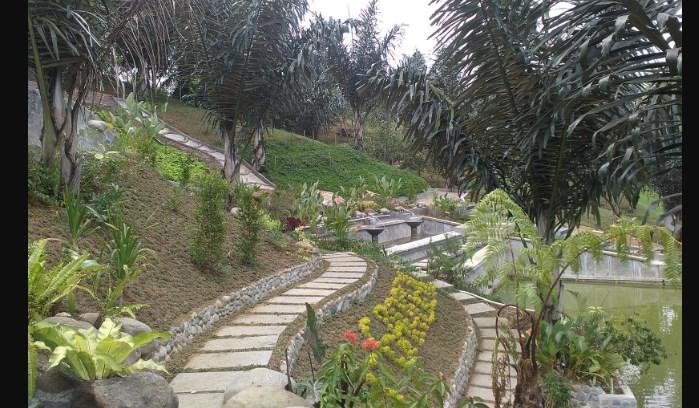 Garden Tempat Wisata Terbaru Medan Taman Le Hu Kota
