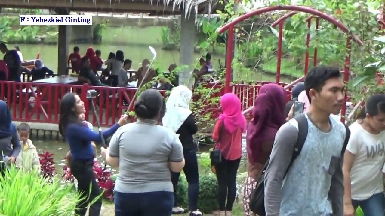 Keindahan Lehu Garden Youtube Taman Le Hu Kota Medan