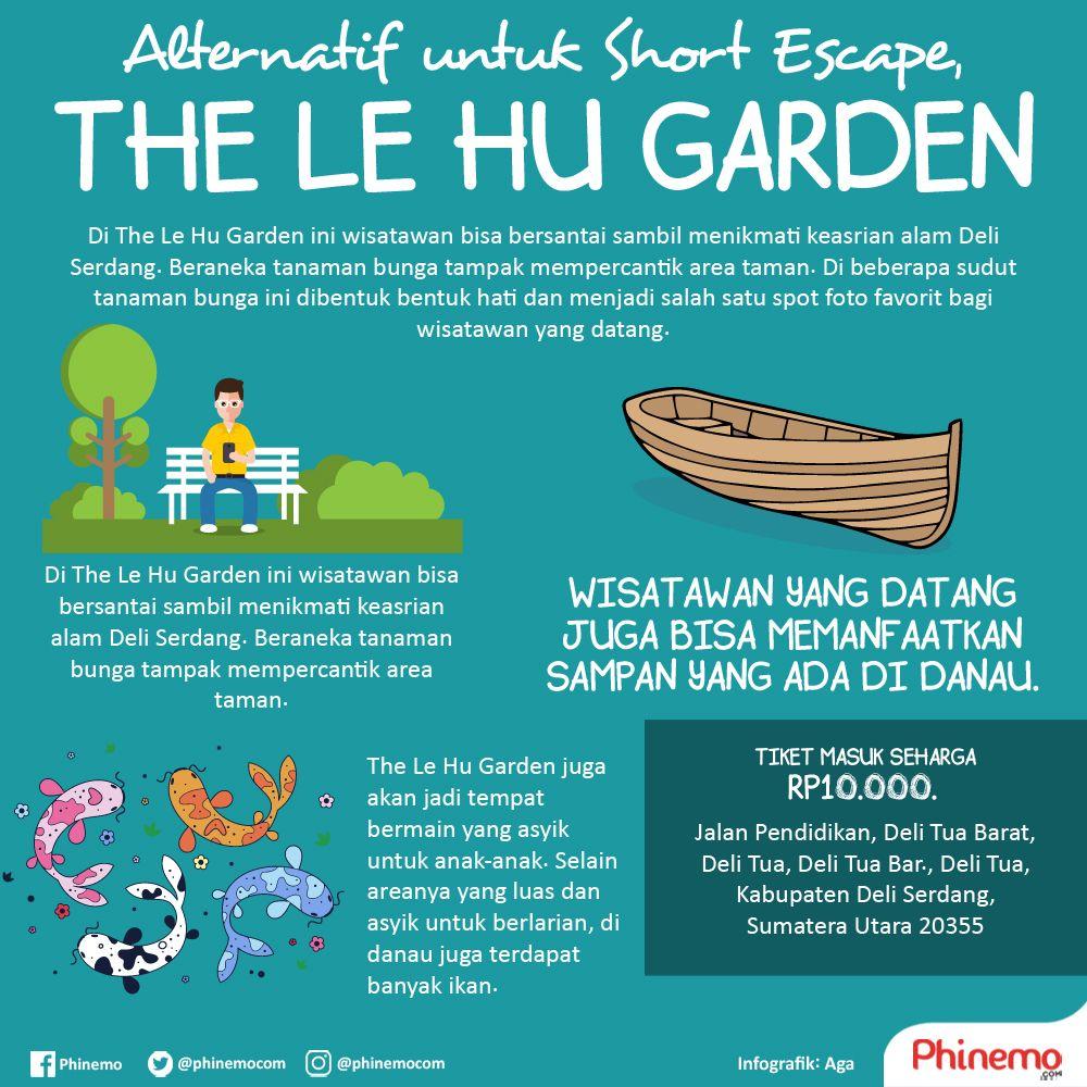Le Hu Garden Taman Jauh Pusat Kota Medan Asyik Hunting