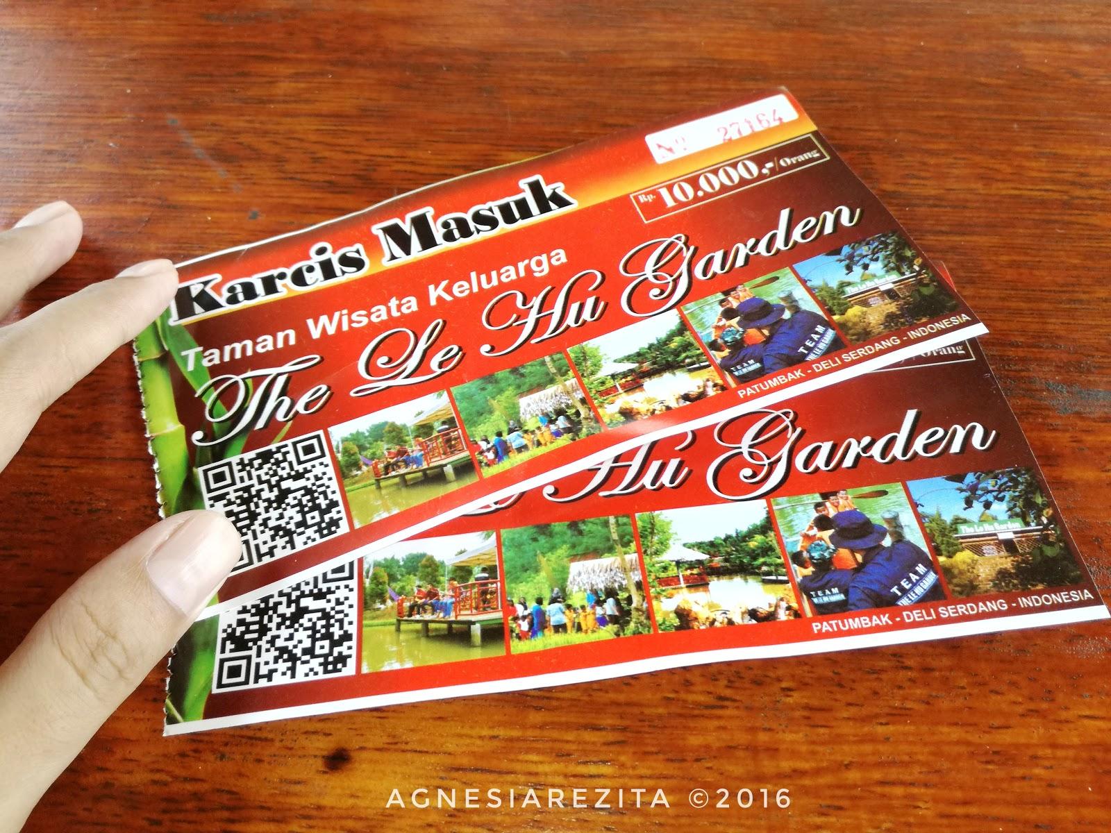 Le Hu Garden Taman Kekinian Menikmati Akhir Pekan Harga Tiket