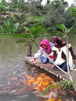 Le Hu Garden Taman Wisata Keluarga Medan Bagi Tidak Repot
