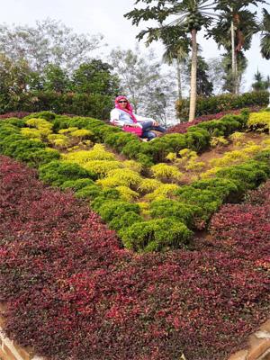 Le Hu Garden Taman Wisata Keluarga Medan Disini Pengunjung Berselfi
