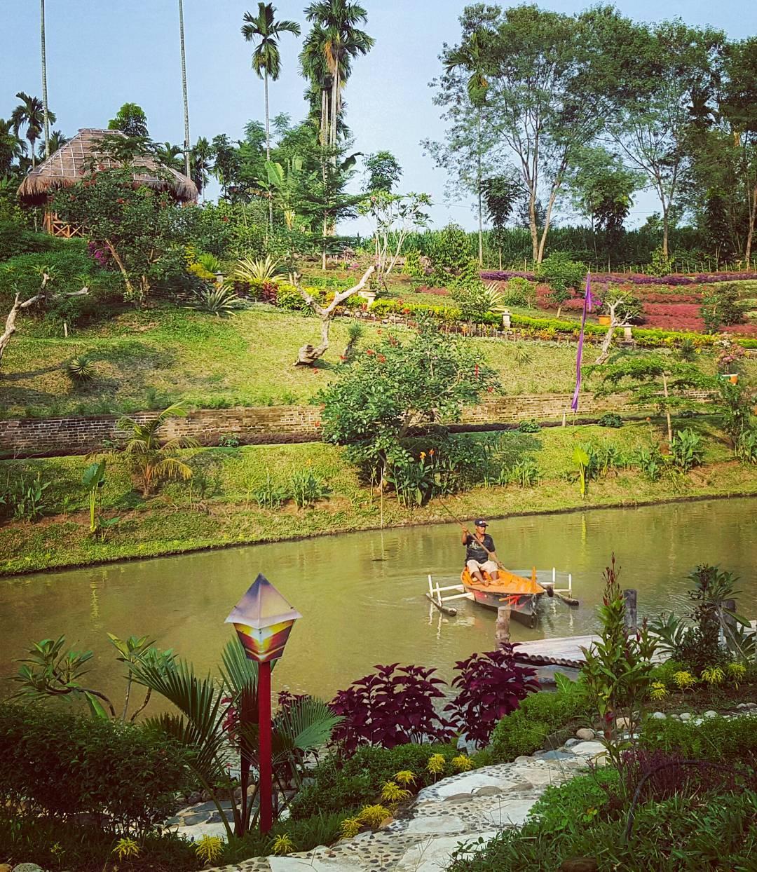 Le Hu Garden Tempat Terasyik Lari Keriuhan Kota Medan Bisa