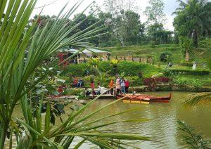 Taman Rekreasi Terbaru Medan Le Hu Garden Deli Tua Kota