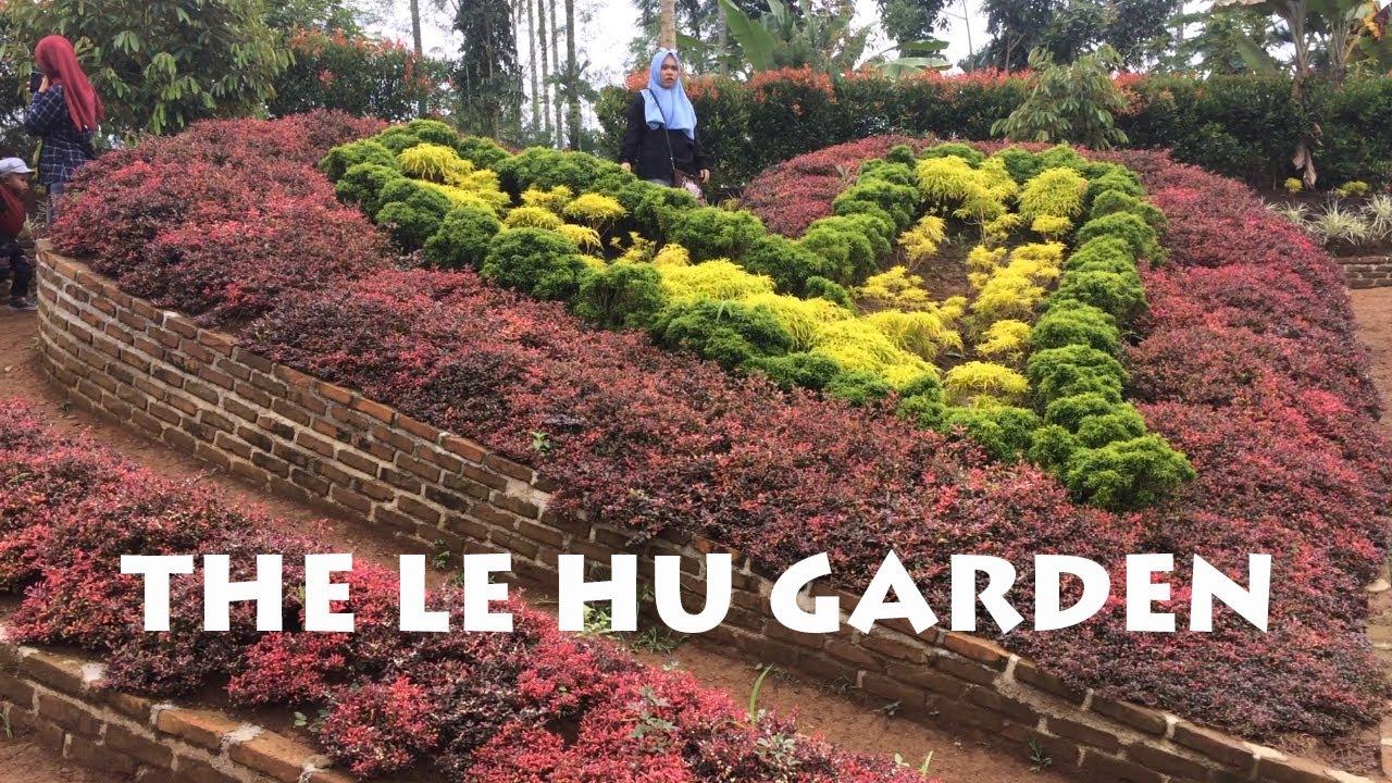 Wisata Taman Bunga Pertama Medan Le Hu Garden Youtube Kota