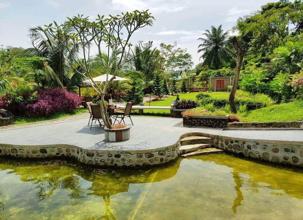 Wisata Taman Favorit Sumatra Utara Le Hu Garden Medan Kota