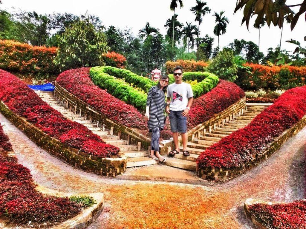 Wisata Taman Favorit Sumatra Utara Le Hu Garden Medan Lehu