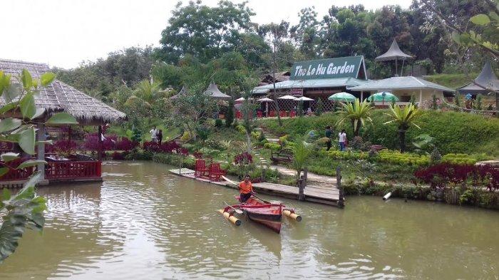 Yuk Berwisata Keluarga Taman Le Hu Garden Tribun Medan Kota