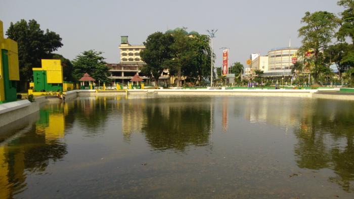 Direvitalisasi Rp 9 Taman Sri Deli Malah Tak Berpengunjung Kota