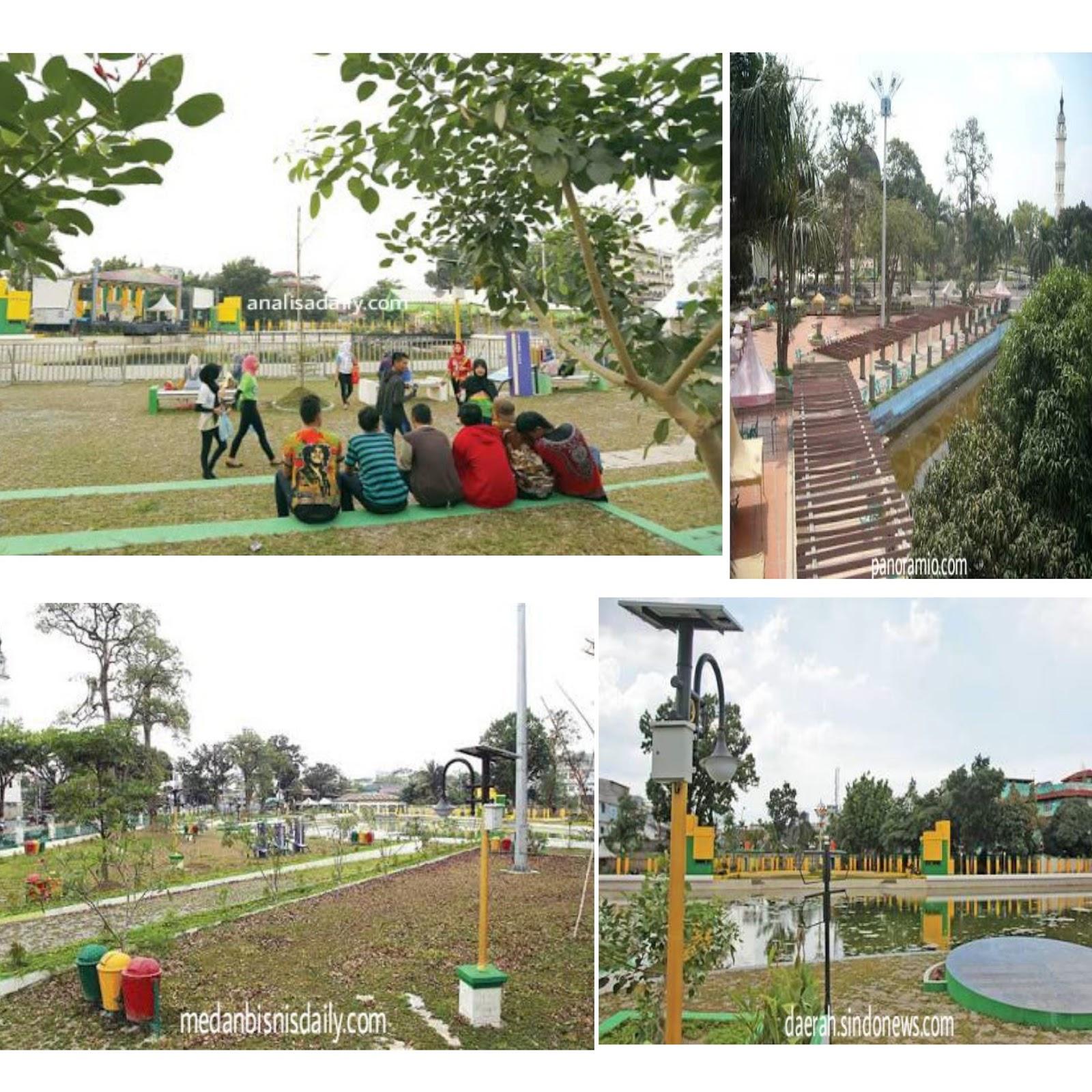 Jelajah Indonesia Taman Sri Deli Medan Kerajaan Penuh Bersejarah Pusat