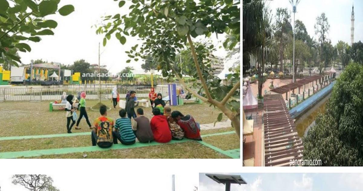 Jelajah Indonesia Taman Sri Deli Medan Kerajaan Penuh Sejarah Kota