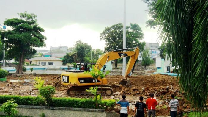 Medan Heritage Bertindak Terkait Penghancuran Taman Sri Deli Kota