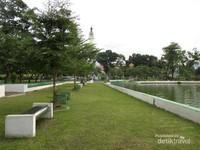 Megahnya Masjid Uang Rp 50 Taman Sri Deli Kota Medan