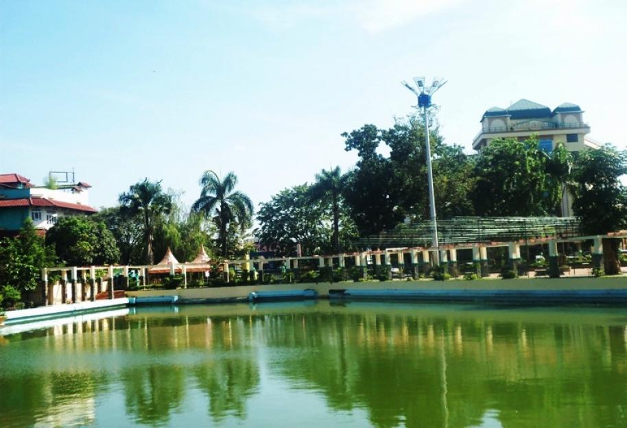 Perkim Lanjutkan Proyek Revitalisasi Taman Sri Deli Sebesar Rp5 Milliar