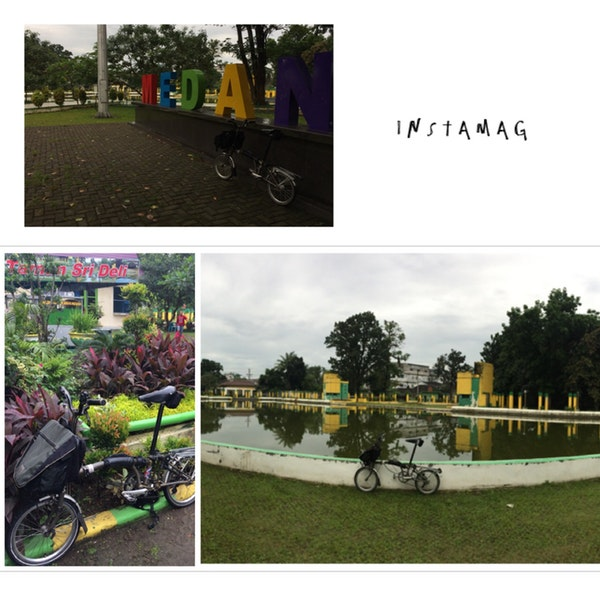 Photos Taman Sri Deli Park Yg Dibangun Kesultanan Diseberang Mesjid