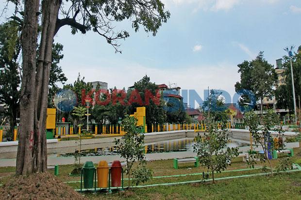 Sri Deli Tak Berfungsi Taman Kota Medan