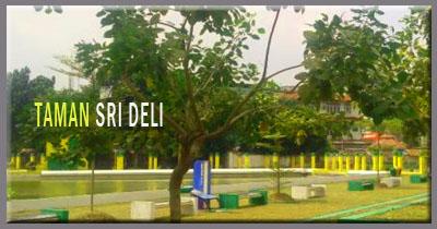 Taman Bersejarah Kasultanan Melayu Deli Sri Tempat Kota Medan