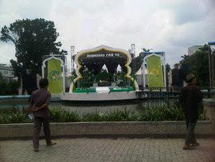 Taman Sri Deli Dilengkapi Panggung Budaya Medan Sumut Sumatera Utara