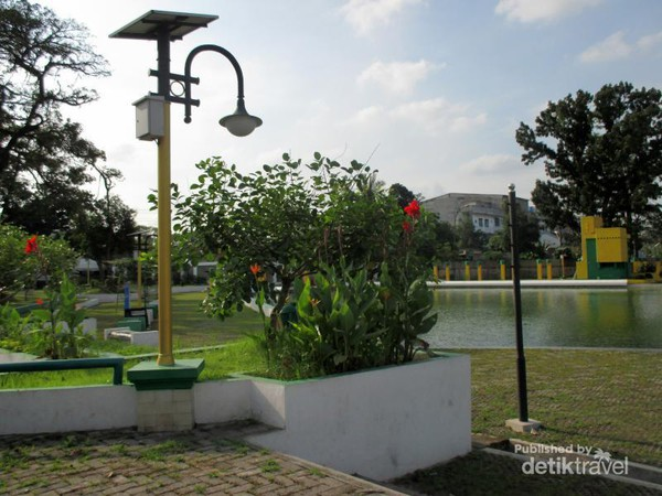 Taman Sri Deli Peninggalan Kesultanan Medan Kota