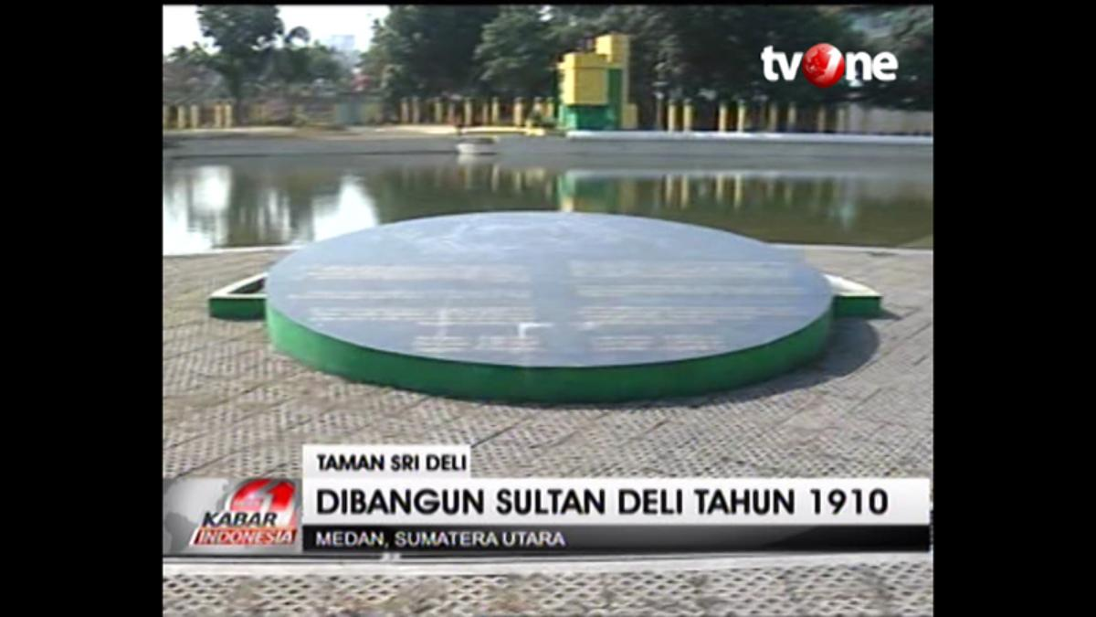 Taman Sri Deli Tempat Bersantai Keluarga Sultan Viva Kota Medan