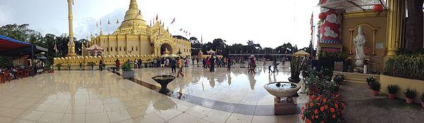 Lumbini Natural Park Wikipedia View Pagoda Taman Wisata Kota Medan