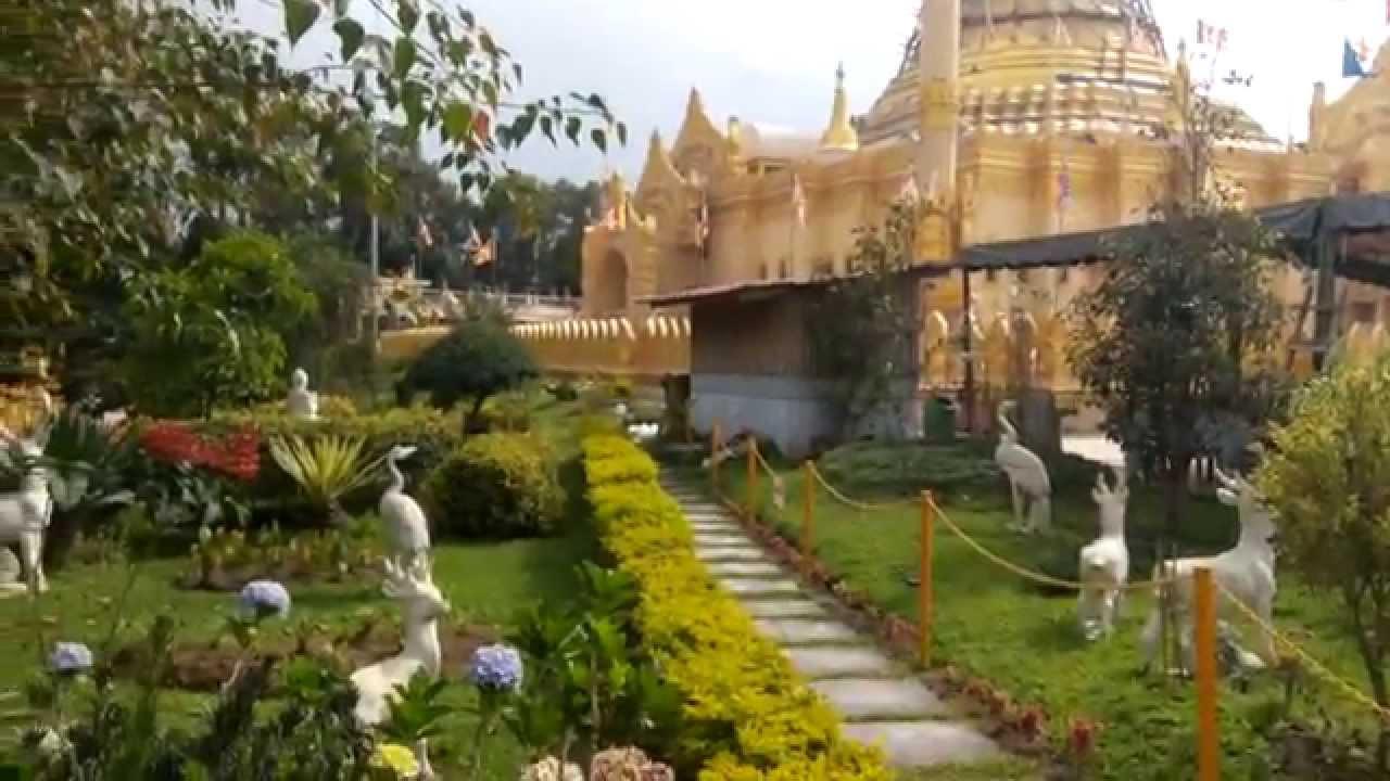 Menakjubkan Pagoda Emas Lumbini Berastagi Tertinggi Indonesia Objek Wisata Sumatera