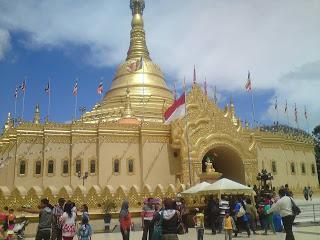 Pagoda Tertinggi Indonesia Taman Alam Lumbini Medan Wisata Life Story