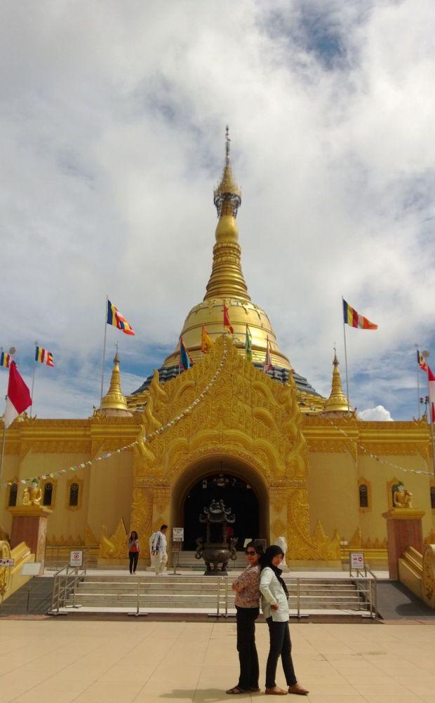 Shwedagon Pagoda Taman Lumbini Nice Sketchmytrip Wisata Kota Medan