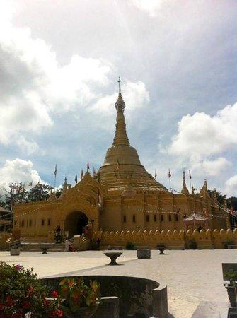 Taman Alam Lumbini Berastagi Picture Natural Park Pagoda Wisata Kota