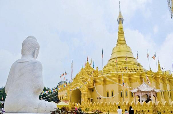 Taman Lumbini Oleh Myjogja Wisata Kompasiana Pagoda Kota Medan