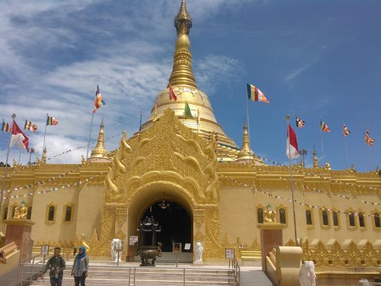 Taman Lumbini Tongkoh Berastagi Picture Natural Park Wisata Pagoda Kota