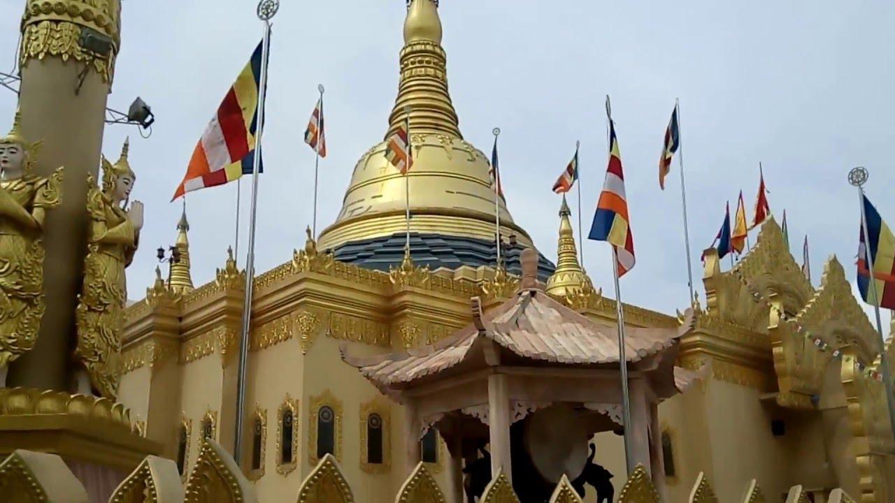 Taman Wisata Lumbini Berastagi Sumatera Utara Youtube Pagoda Kota Medan