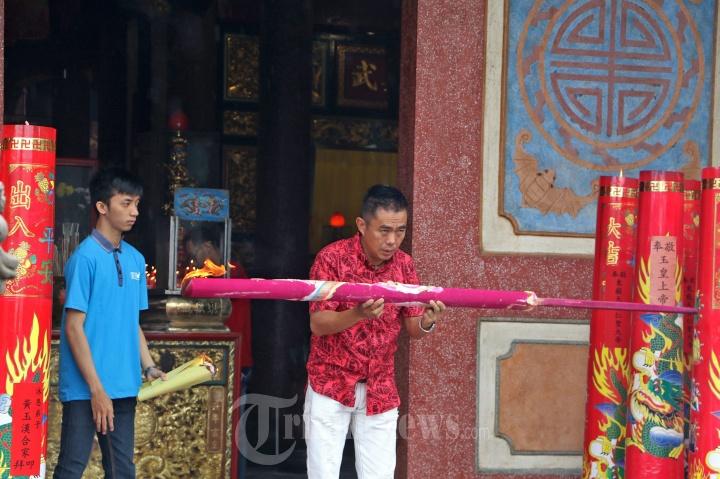 Sembahyang Imlek Vihara Gunung Timur Medan Foto 3 1686435 20170129
