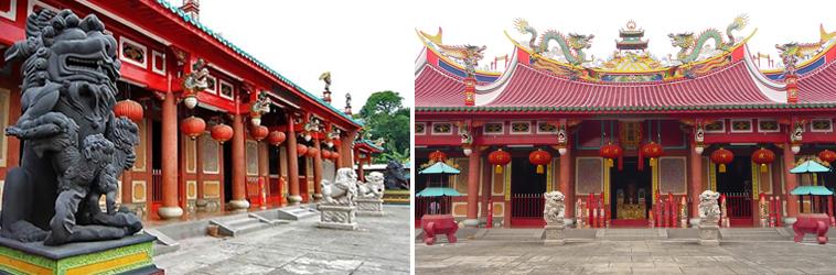 Vihara Gunung Timur Dikenal Sebagai Budha Tertua Kota Medan Dirikan