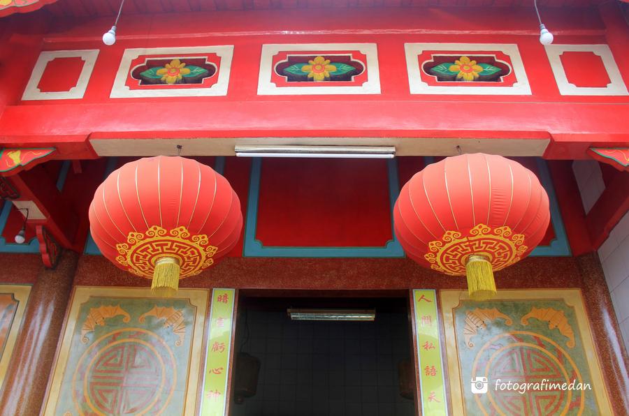Vihara Gunung Timur Medan Fotografi Lampion Kota