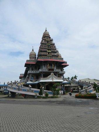 Vihara Gunung Timur Temple Global View Picture Marian Shrine Annai