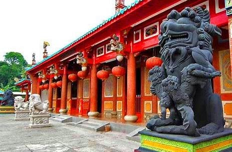 Wisata Religi Vihara Gunung Timur Pariwisata Sumut Lokasi Terletak Jalan