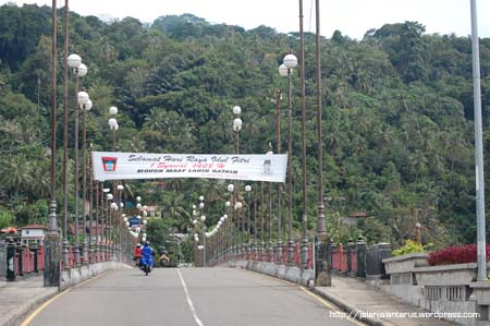 Jembatan Siti Nurbaya Padang Sumbar Nagari Nurbaya2 Kota