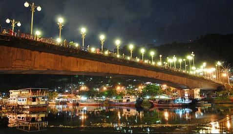 Lokasi Jembatan Siti Nurbaya Mempesona Pesona Kota Padang