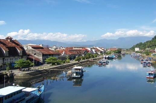 Minangkabau Fascinating Kabarminang Panorama Batang Arau Jembatan Siti Nurbaya Padang