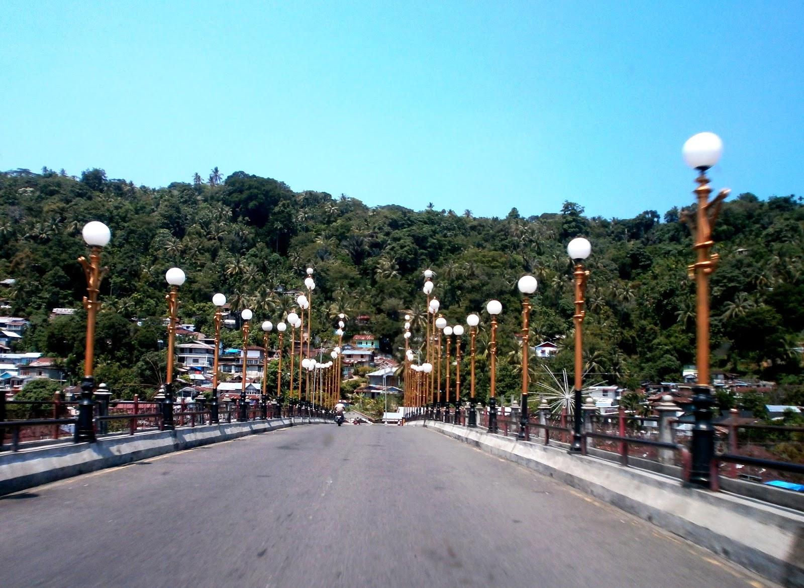 Pesona Muaro Padang Jembatan Siti Nurbaya Minang Kabau Termasuk Kawasan