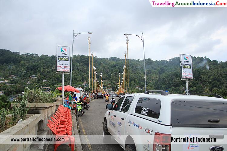 Potrait Indonesia Detail Jembatan Siti Nurbaya Padang Sumatera Barat Kota