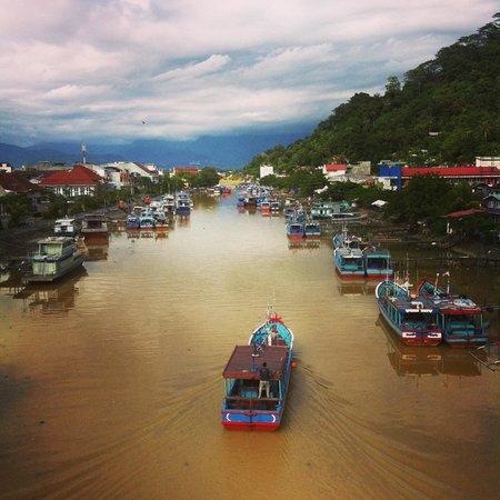 View Siti Nurbaya Bridge Review Pelabuhan Muaro Jembatan Kota Padang