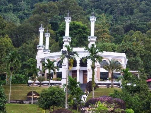 Inilah Miniatur Makkah Padang Sumatera Barat Barokah Mekah Mini Lubuk