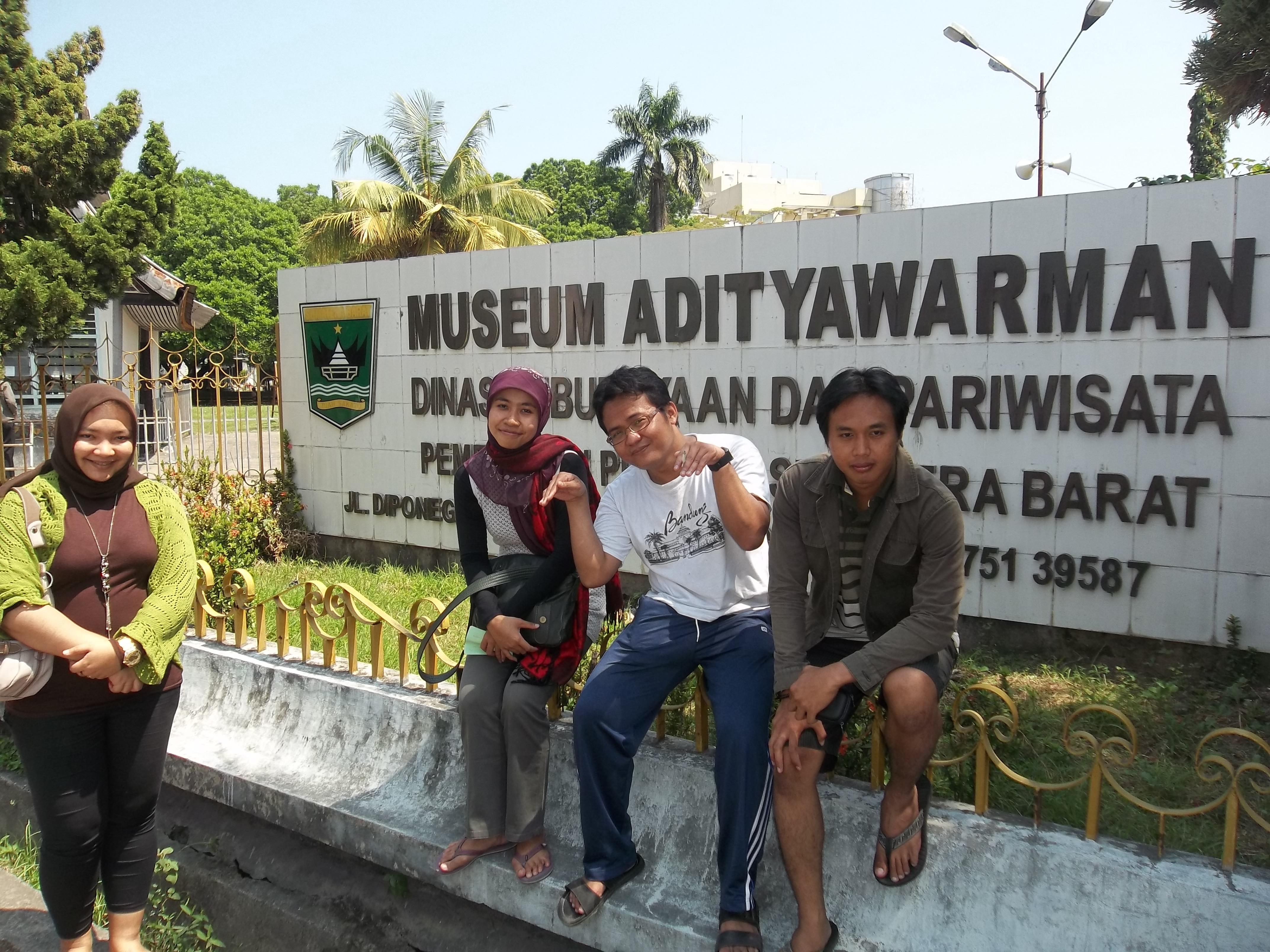 Ekspedisi Sumatera Sumbar Benda Budaya Museum Adityawarman Bentuk Bangunan Berbentuk