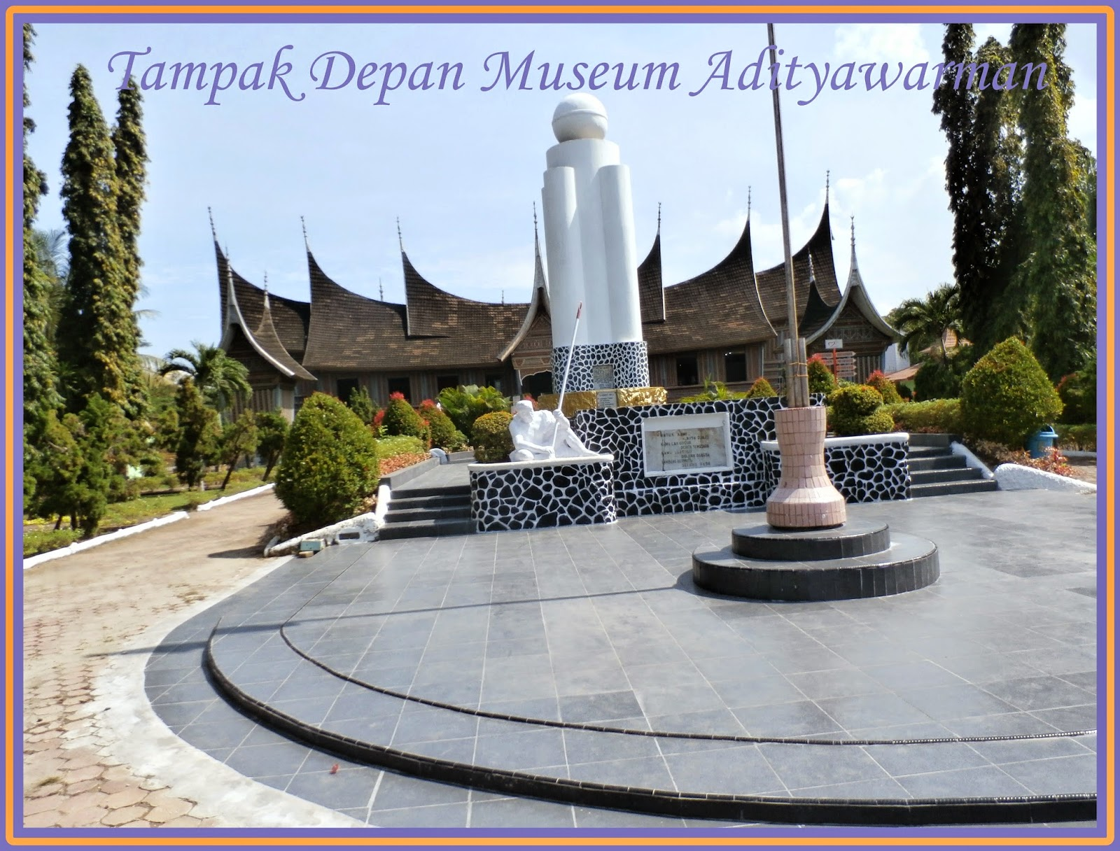 Mamahtira Jalan Kota Padang Museum Adityawarman Asri Berkunjung Sebuah Menyempatkan