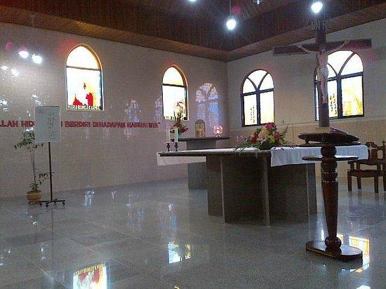 Altar Picture Bukit Doa Karmel Tangkiling Palangkaraya Kota