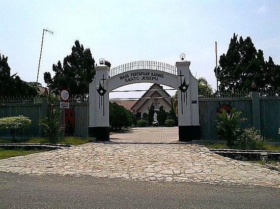 Entrance Picture Bukit Doa Karmel Tangkiling Palangkaraya Kota